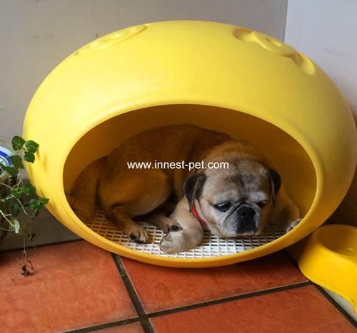 egg shape plastic dog house, pet house