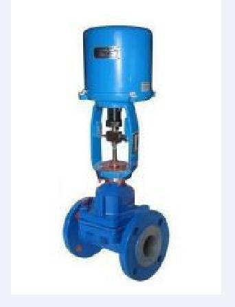 electric actuator lining diaphragm valve