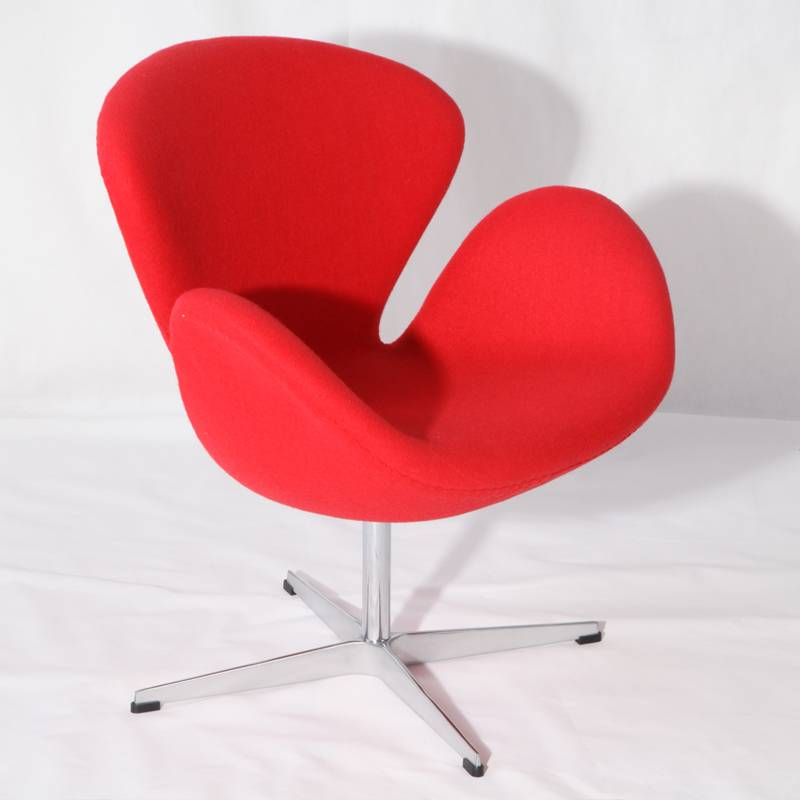 Arne Jacobsen cashmere swan chair replica