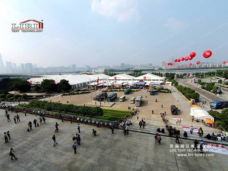 40m Big Canton Fair Event Marquee Tent for sale