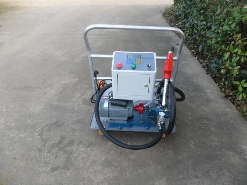 220V Mobile design Lube oil fuel dispenser lubrication fillng machine,mini diesel pump