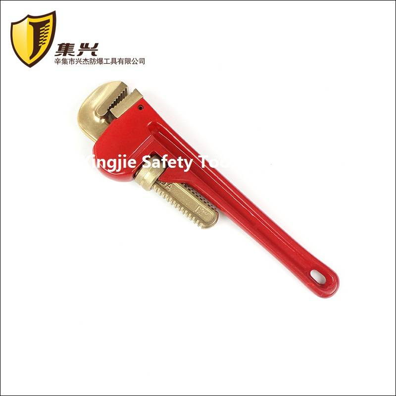 Aluminum Bronze Pipe Wrench,Non sparking Tools