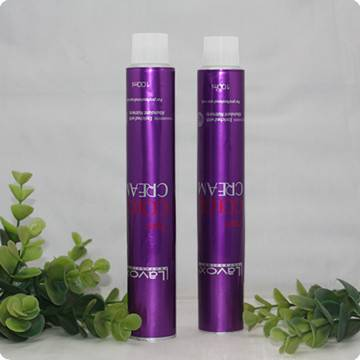 Collapsible aluminium tubes for Hair Color Cream