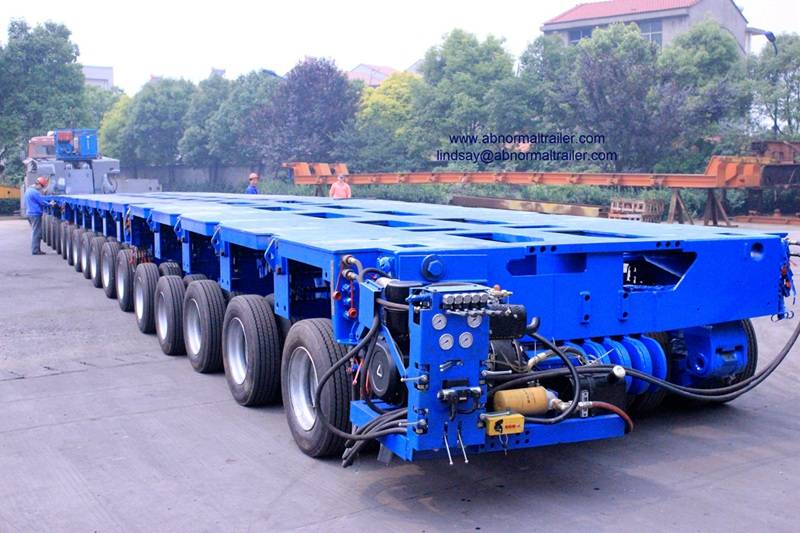 China goldhofer trailer supplier