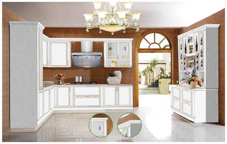 European Style Aluminum furniture Aluminum kitchen cabinet