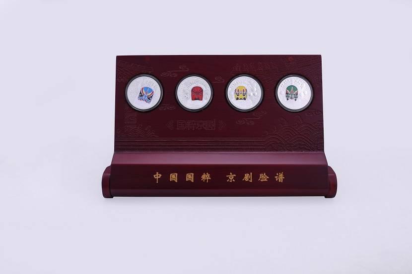 Pure silver Ag999 Beijing opera facial mask