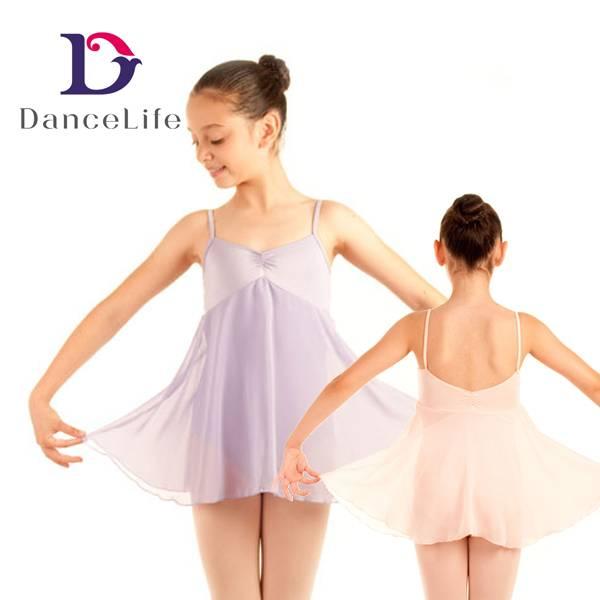 long chiffon skirted dress