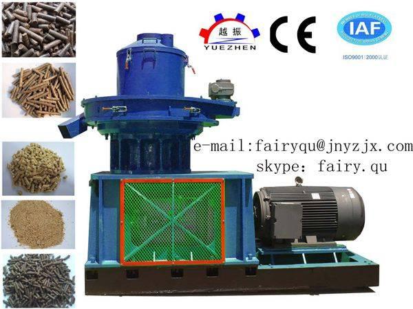 Biomass fuels pellet machine