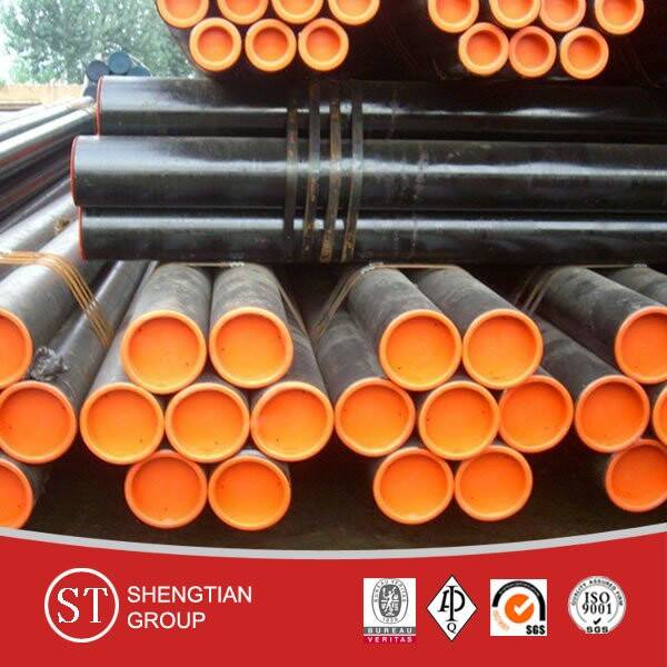 ASTM A 106 GR.B, A53 carbon steel seamless pipes for oil and gas