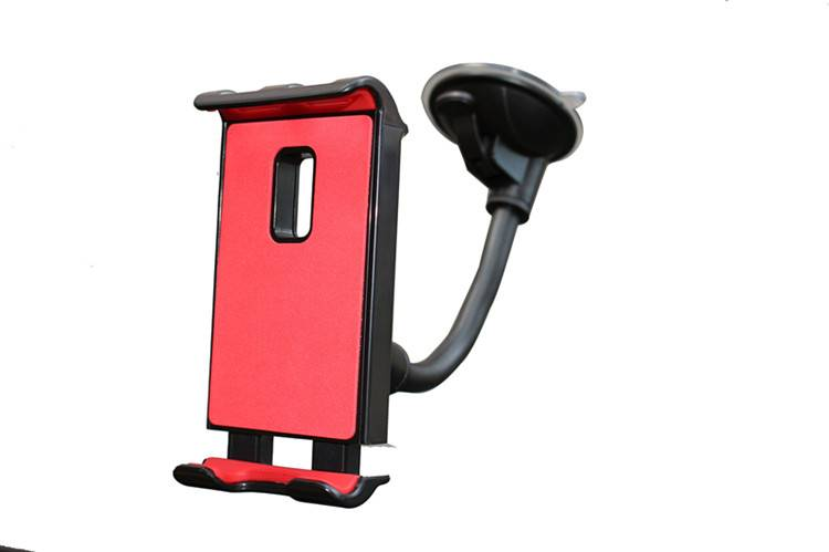 Universal tablet car gooseeneck cell phone holder