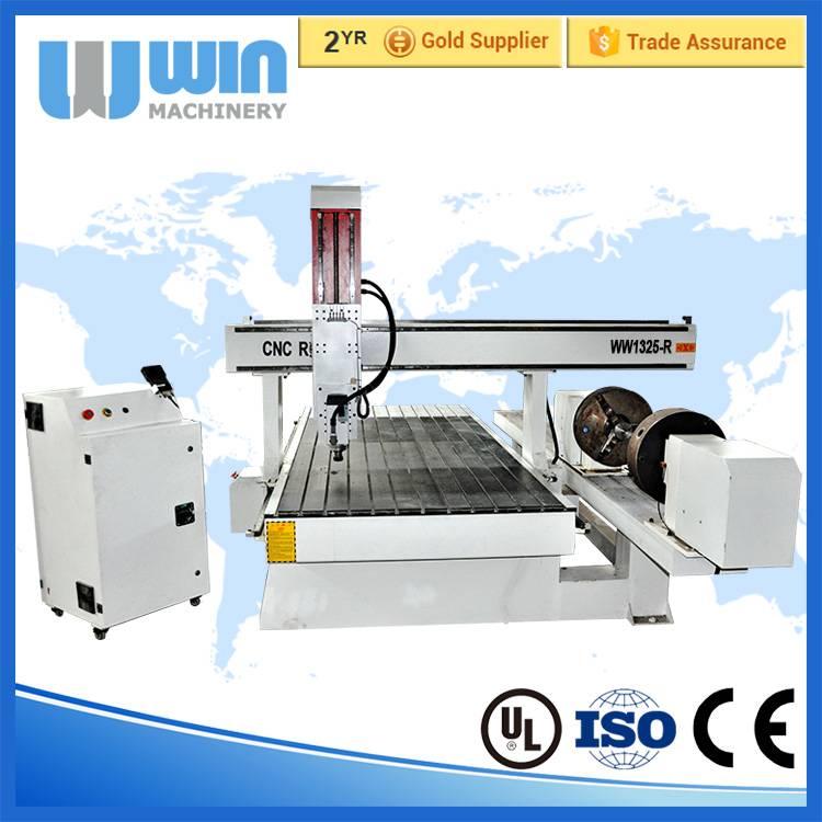 Cheap 3 Axis 1325-R CNC Rotary Table Foam Cutting Machine