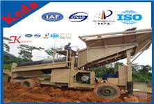 High Effciency Movable Placer Gold Mining Equipment with Patents (KDTJ-50)