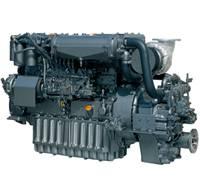New Yanmar 6CXBM-GT Marine Diesel Engine 400HP