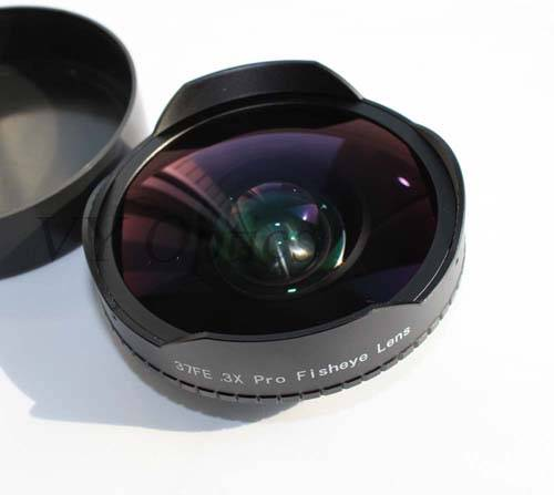 0.3X fisheye lens for sanyo projector
