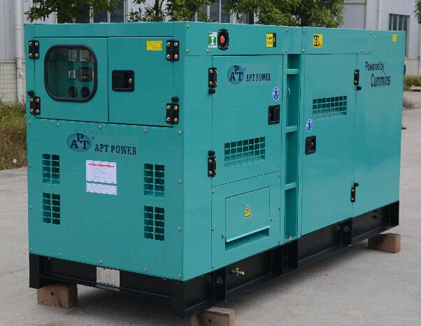 Diesel Generator with Cummins Diesel Engine and Stamford Alternator 92kVA/84kW at 50Hz