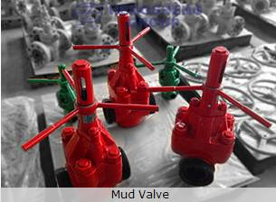 Heavy load and corrosion resistance API Standard Mud Valve