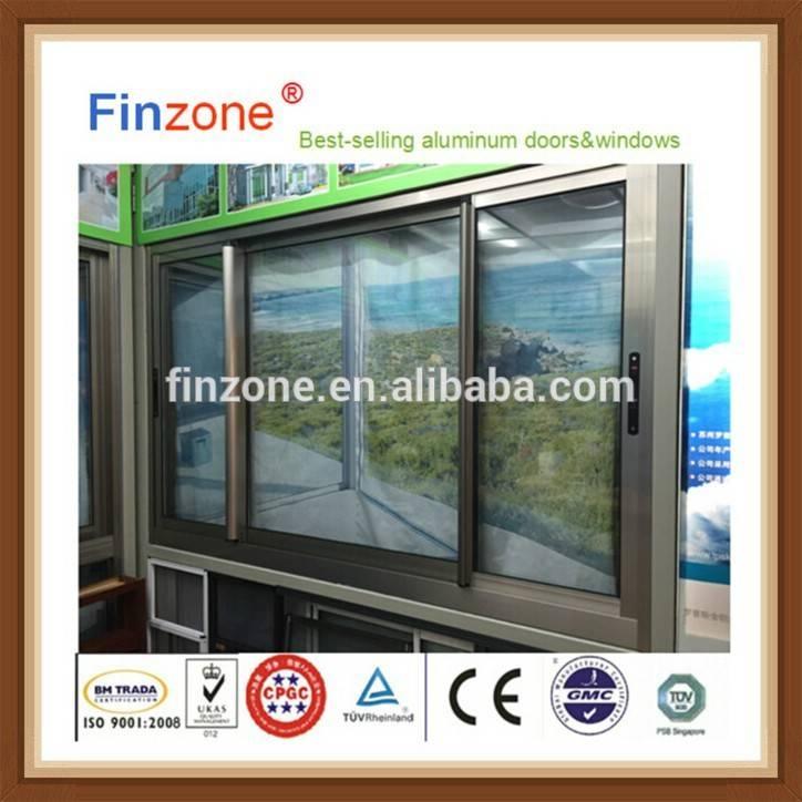 2016 new style aluminum sliding window