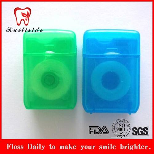 square shape  dental floss