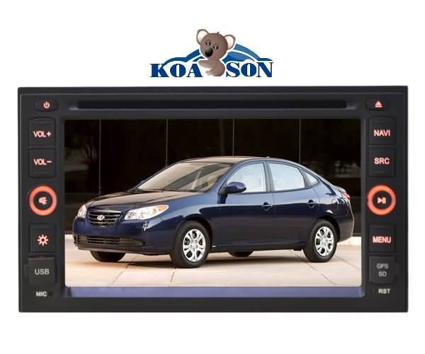 HYUNDAI Elentra/Tucson/Sonata Car DVD Player with 6.2-inch Touch Screen/external(optional)/DTV(optio