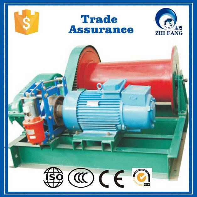 ZHIFANG portable 220v electric winch from China