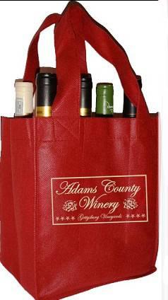 Wine bottles bags