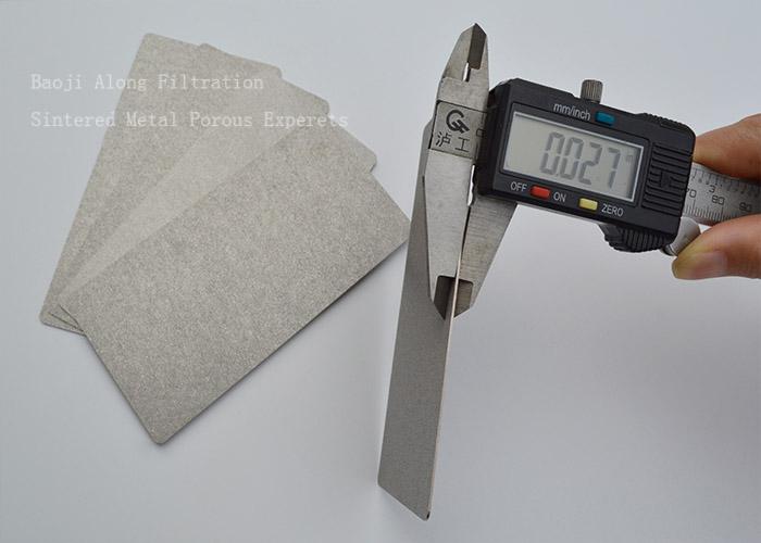 Titanium powder sintered titanium porous filter plate