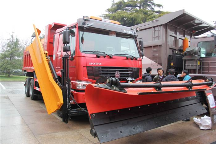 336HP Sinotruk HOWO 6*4 Snow Sweeper for sale-ZZ3257N4147C1