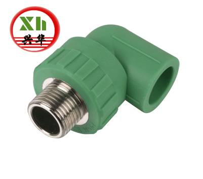 PPR pipe fittings, Male Elbow
