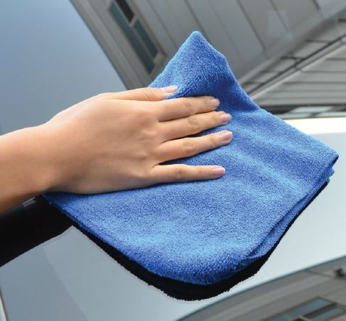 selsemo soft towel for car cleaning