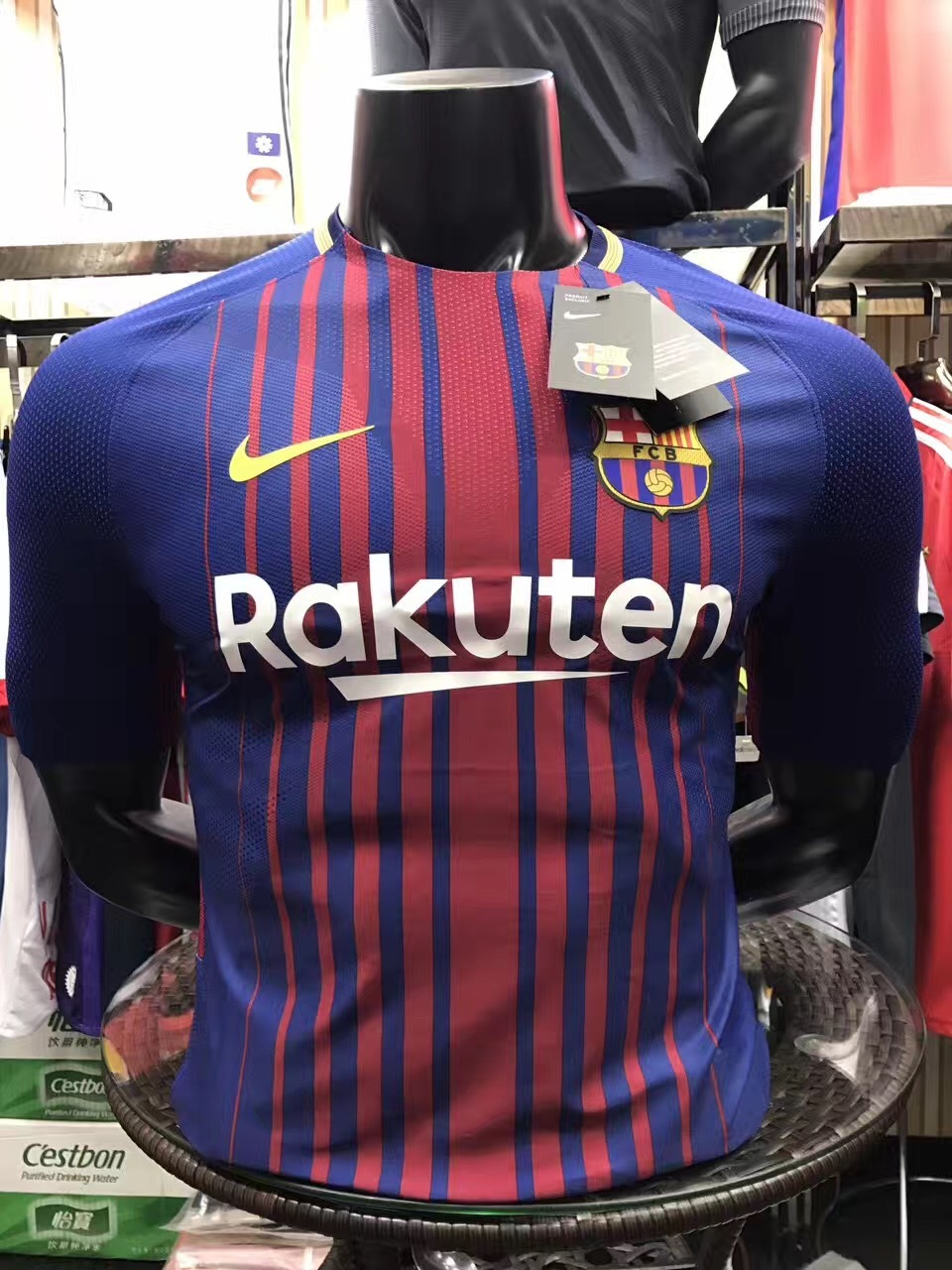 2017-2018 Barcelona Home team Player Jersey(slim fit)