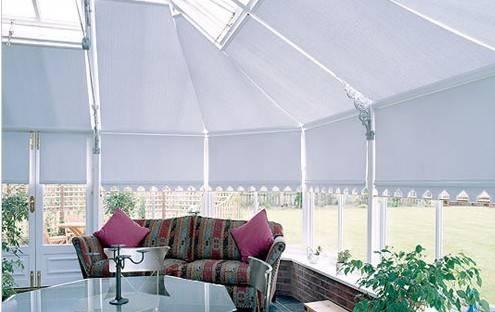 AE4300 FSS Scroll Roof Blind