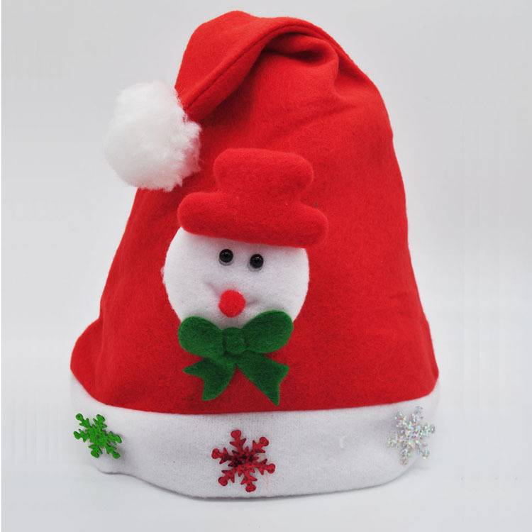 Festival Party Christmas Gift Santa Hat Decorated Supplier For Adult and Kids