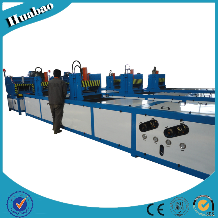 Tracked Profile Pultrusion Extrusion Machine For Hydraulic Frp Product