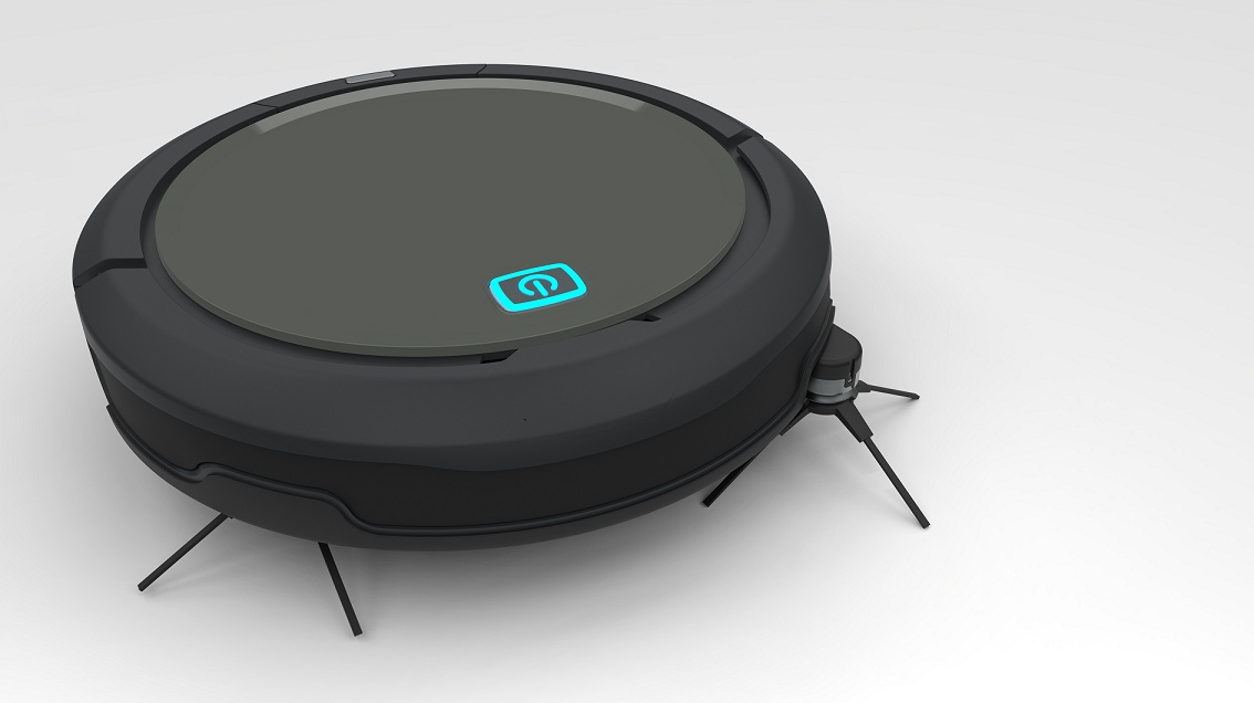 2017 New Robot Vacuum Cleaner with GYRO Mapping Auto Cleaning
