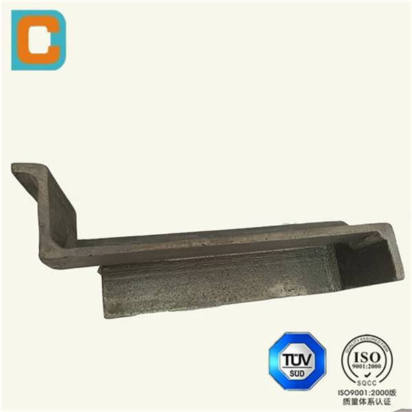 Steel Foundry casting plate with ISO9001