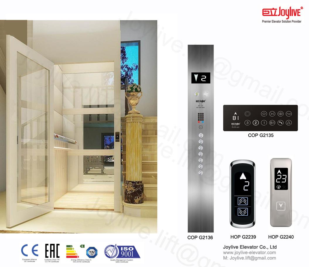 Luxury Residential Passenger Elevator Lift - Joylive Elevator