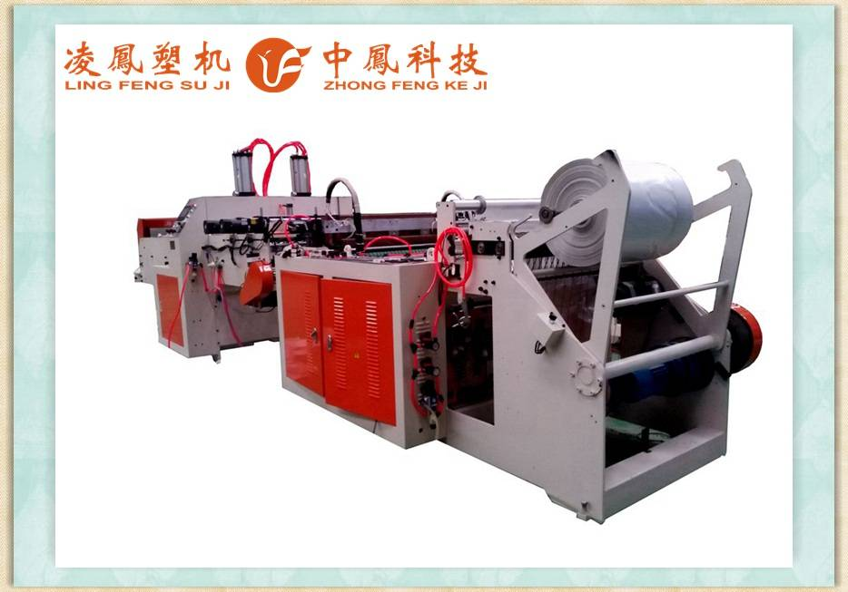 Full-auomatic Single Channel T-shirt/Vest/Shopping Bag Making Machine