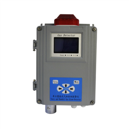 New single point of wall-mounted gas alarming detector
