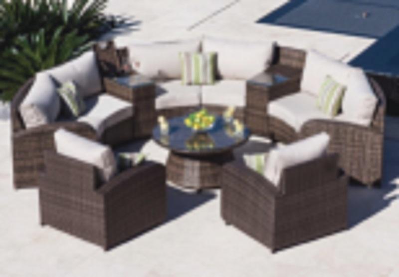 One rattan sofa set