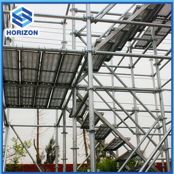 Galvanised Ringlock Scaffolding For Construction