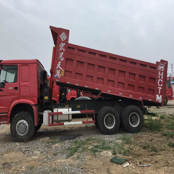 6x4 used howo 336 dump truck for sale