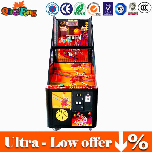Canton Fair 5% Discount Coin operated basketball arcade game machine