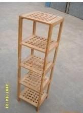 wooden sundries rack