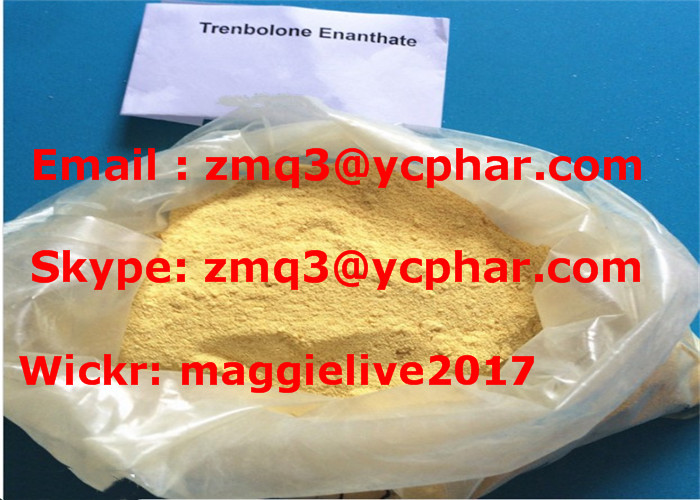 Yellow Crystalline Pharmaceutical Chemical Trenbolone Enanthate for Strength Gaining