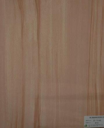 melamine paper/furniture decorative paper JS-3140 birch wood