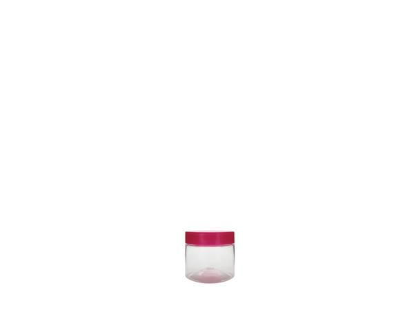 salon hair care plastic jars