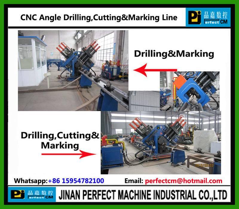 CNC Angle Drilling Line Marking Line