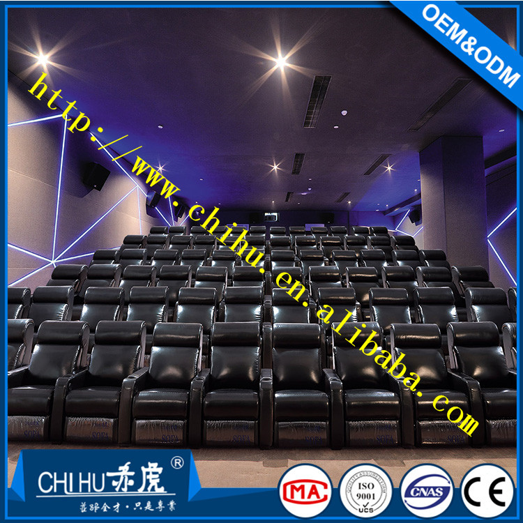 2017 hot sale reclining home theater sofa in cinema