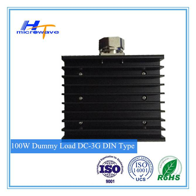 100W fixed Coaxial Termination dummy Load DC - 3GHz with DIN Connector