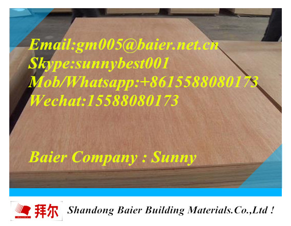 48 Hot sale cheap price 5mm 9mm 12mm 15mm 16mm 18mm Commercial Plywood for Furniture
